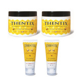 (2)-8oz Jars And (2)-2oz Jars Thentix™ Pack