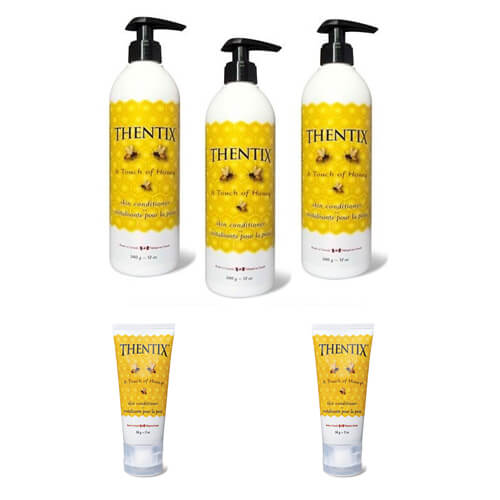 (3)12-oz + (2) 2-oz Thentix Skin Conditioner Pack